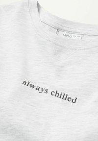 Mango - CHILLED - Pyjama set - hellgrau meliert - 3
