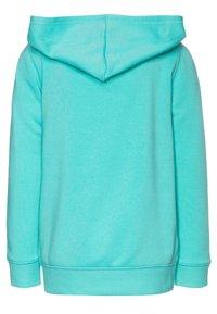 OshKosh - LAYERING - Mikina na zip - turquoise - 1