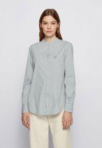 BOSS - BEFELIZE - Button-down blouse - light green - 0