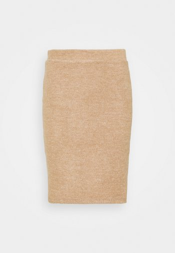 VIHAUDI SKIRT - Pencil skirt - camel