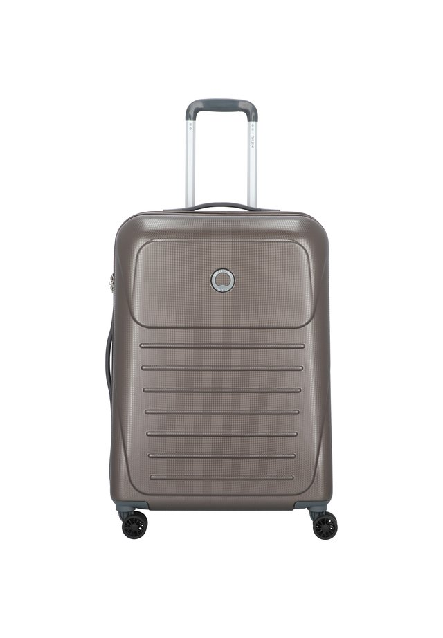 DELSEY MUNIA 4-ROLLEN TROLLEY 66 CM - Wheeled suitcase - haselnuss