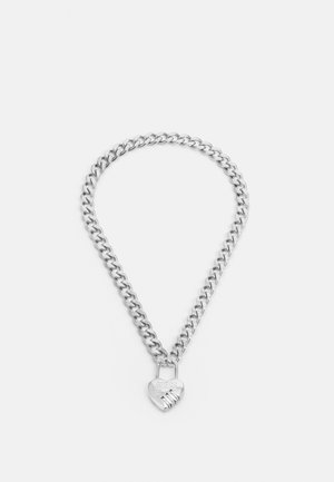 LOCK ME UP - Necklace - silver-coloured