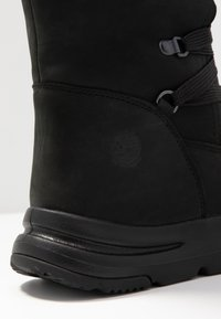 Timberland - MABEL TOWN WP TALL MUKLUK - Lace-up boots - black - 2