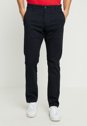 SMART SUPREME FLEX TAPERED - Trousers - navy