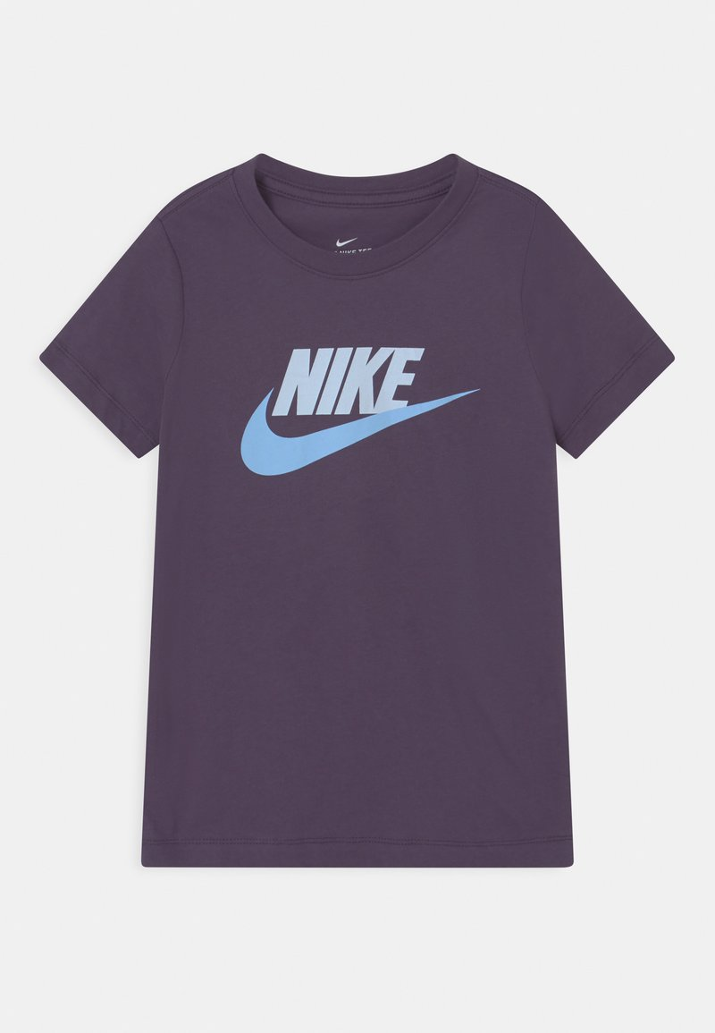 Nike Sportswear - FUTURA ICON TEE - Print T-shirt - dark raisin