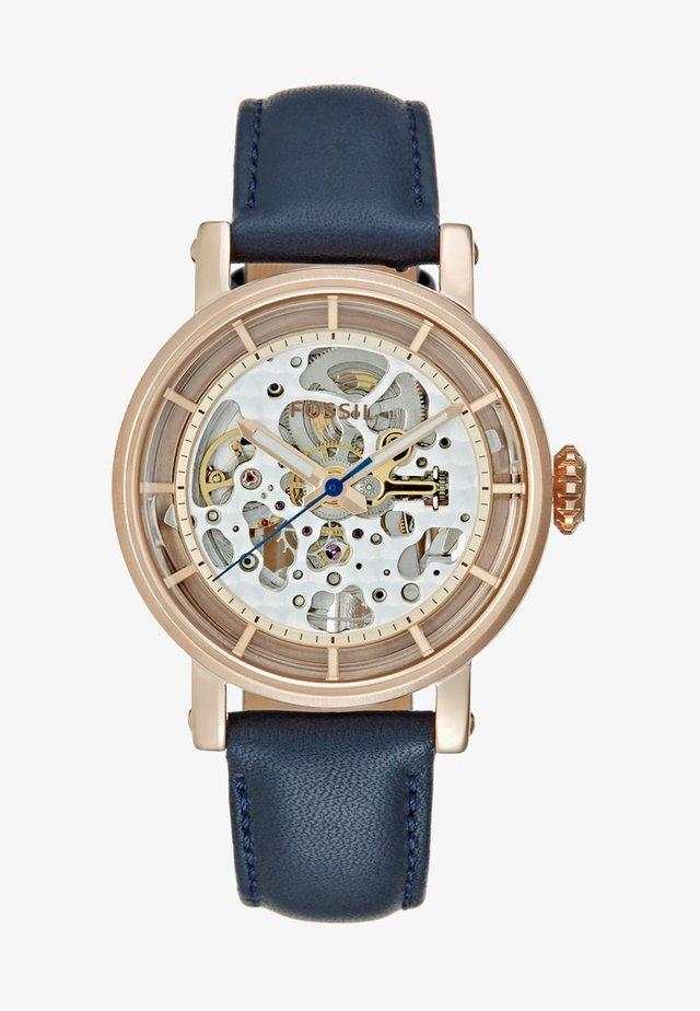 Chronograph watch - blau