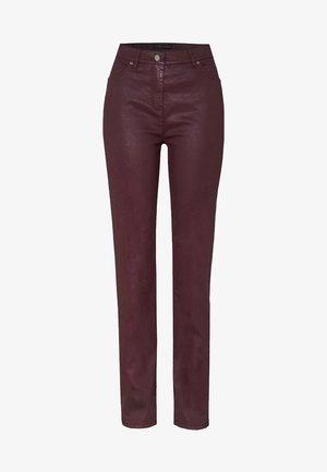 Trousers - darkberry