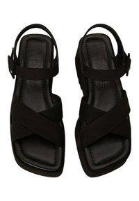 Mango - SPICY - Platform sandals - schwarz - 0