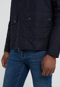 Barbour International - FARLEIGH CASUAL - Summer jacket - dark indigo - 3