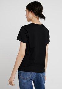Weekday - KATE - Print T-shirt - black - 2