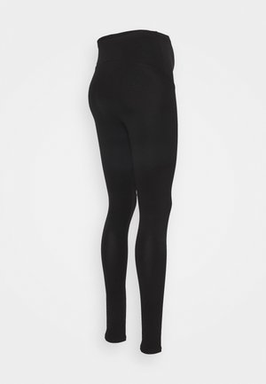 OLMLOVELY LIFE 2PACK - Leggings - Trousers - black/black