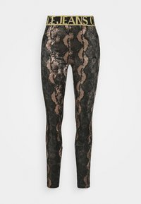 Versace Jeans Couture - Leggings - Trousers - moro - 0