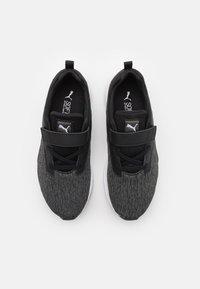 Puma - COMET 2 ALT UNISEX - Neutral running shoes - black/white - 3