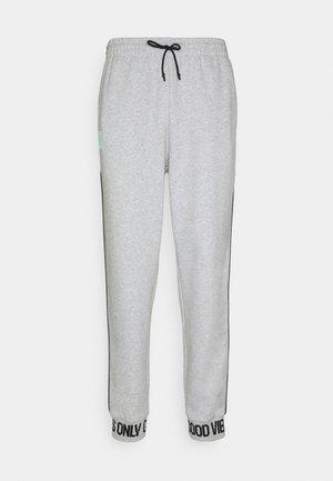HYPE PIPE - Teplákové kalhoty - melange