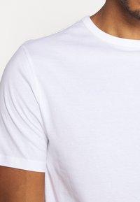 River Island - 5 PACK - Basic T-shirt - pink/white/grey/dark grey/black - 10