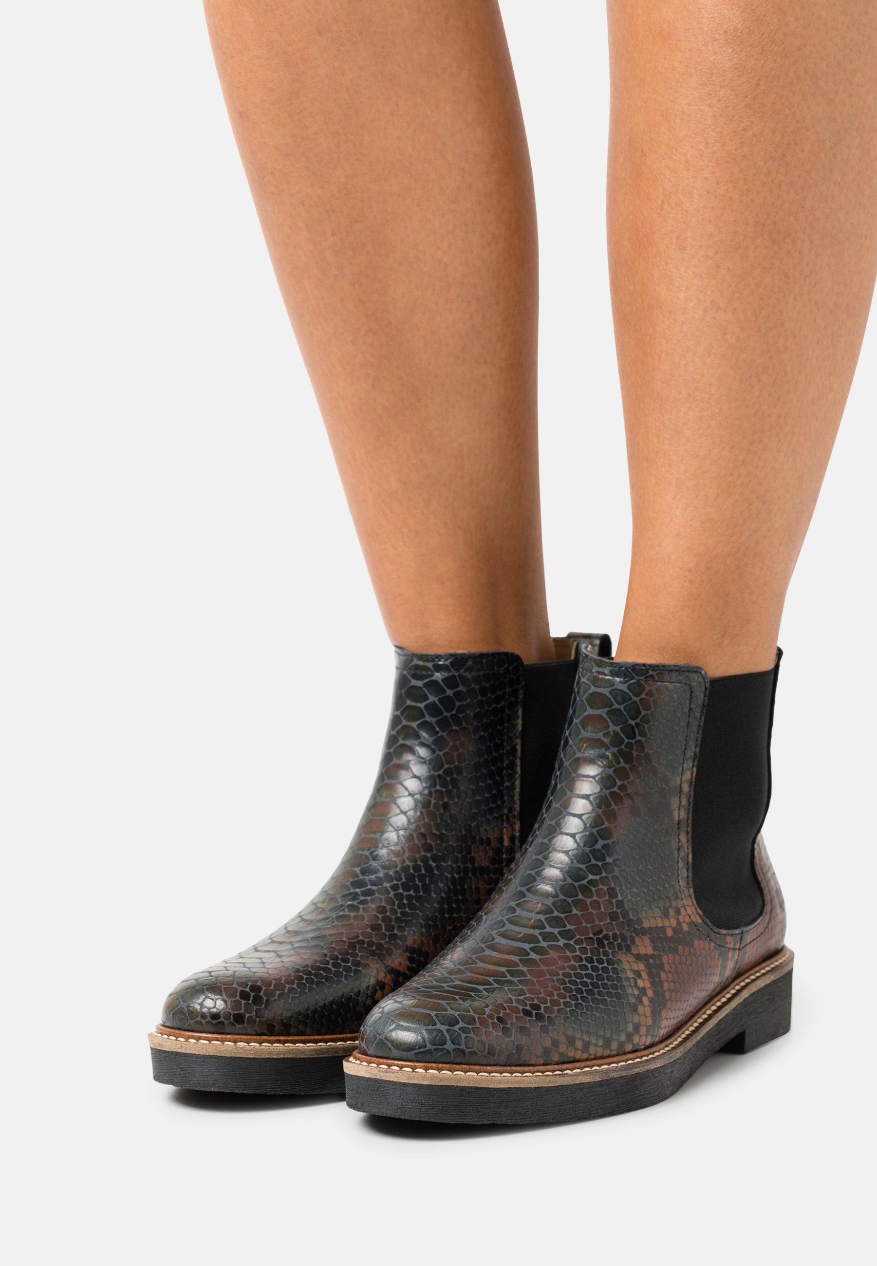 Women OXFORDCHIC - Ankle boots - multicolor