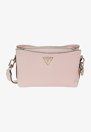 AMBROSE CROSSBODY TOP ZIP - Across body bag - blush