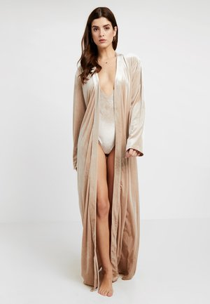 KATRINA ROBE - Peignoir - almond