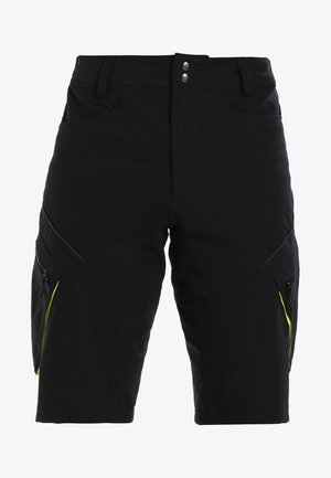 TRAIL SHORTS - kurze Sporthose - black