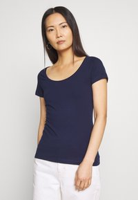 Anna Field - 2 PACK - Print T-shirt - navy/white - 5