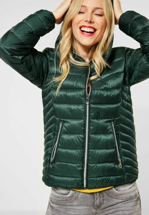 Winter jacket - midnight green