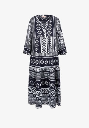 MIT IKAT-MUSTER - Day dress - navy aop