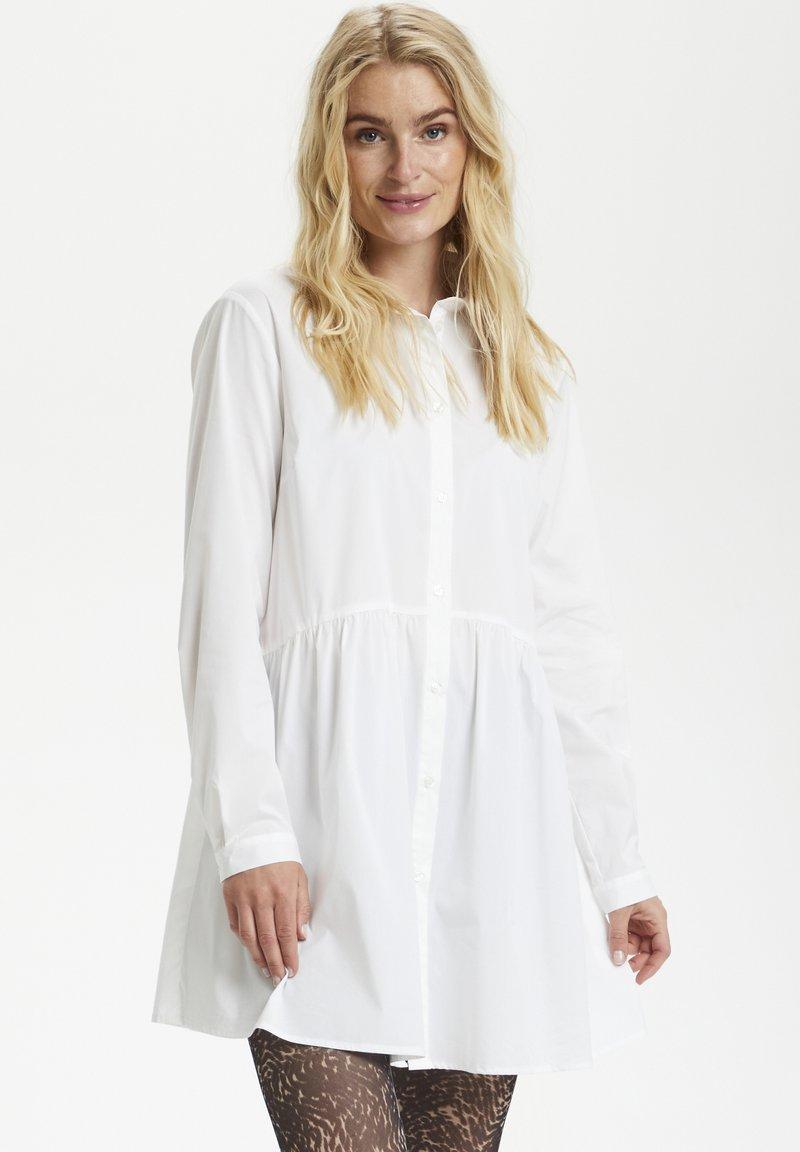 Cream - Button-down blouse - snow white