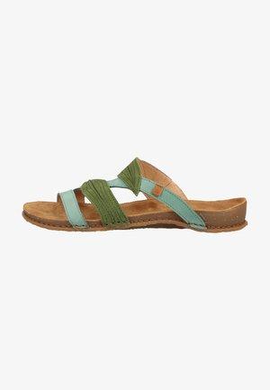 Sandały - mint-selva