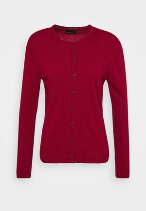 Cardigan - dark red