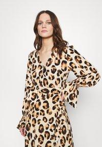 Fabienne Chapot - TASH DRESS - Maxi dress - beige/black/brown - 3