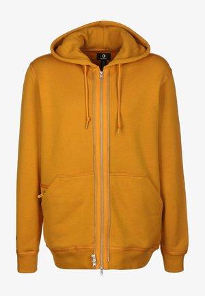 UTILITY - Zip-up hoodie - safron yellow