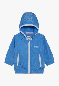 BOSS Kidswear - HOODED WINDBREAKER - Light jacket - vague - 0
