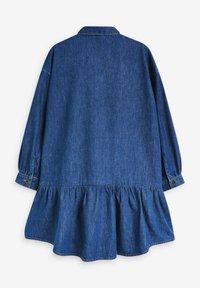 Next - Shirt dress - blue denim - 1