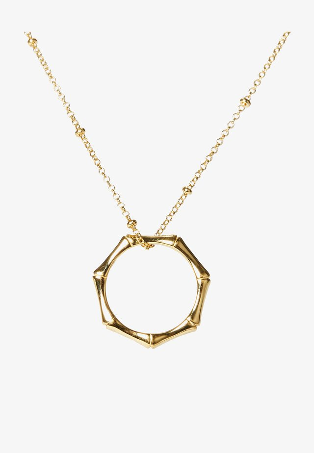 BAMBOO - Necklace - gold