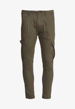 LAGO - Cargo trousers - oliv