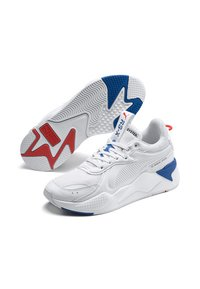 Puma - RS-X MASTER - Trainers - white-palace blue - 3