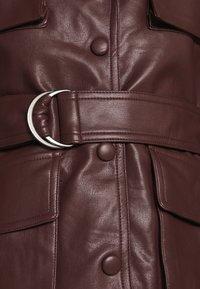 Twist & Tango - CECILIA JACKET - Faux leather jacket - reddish brown - 6
