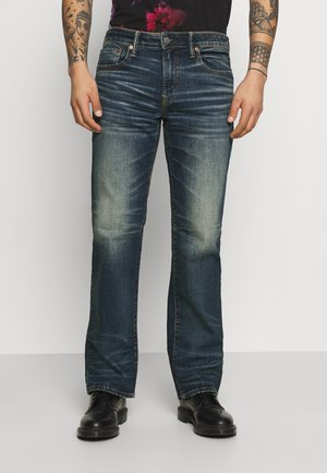 TINTED WASH ORIGINAL BOOT - Bootcut jeans - authentic dark indigo