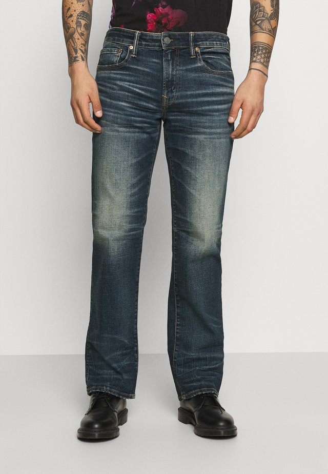 TINTED WASH ORIGINAL BOOT - Jeans bootcut - authentic dark indigo