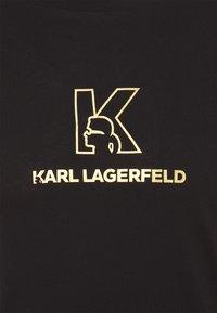 KARL LAGERFELD - CREWNECK - Triko spotiskem - black - 7