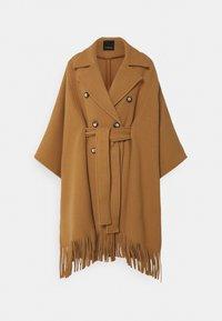 Pinko - PUERTA MANTELLA PANNO - Classic coat - camel - 4