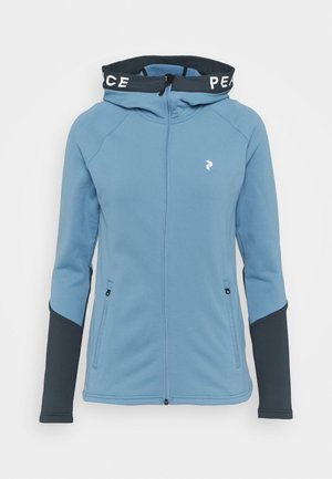 RIDER ZIP HOOD - veste en sweat zippée - blue elevation