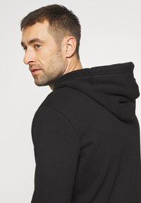Superdry - CLASSIC ZIPHOOD - Sweater met rits - black - 3