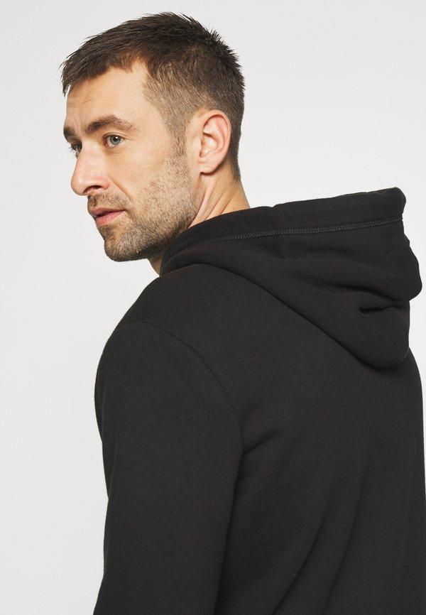 Superdry CLASSIC ZIPHOOD - Bluza rozpinana - black/czarny Odzież Męska YIBX