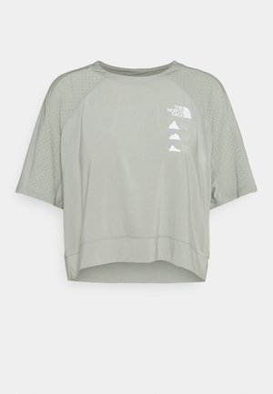 GLACIER TEE  - Print T-shirt - mottled grey