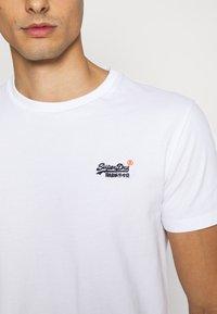 Superdry - VINTAGE TEE - T-shirt - bas - optic - 3