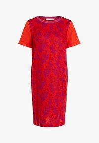 Oui - Jersey dress - red violett - 4