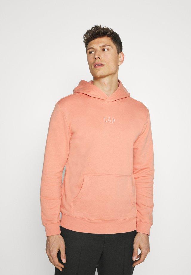 LOGO - Sweatshirt - sunburn orange