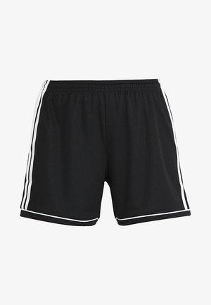 SQUADRA CLIMALITE FOOTBALL 1/4 SHORTS - Korte broeken - black/white