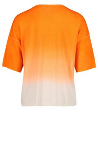 Cartoon - Jumper - white orange - 4